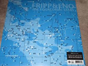 FRIPP & ENO - THE EQUATORIAL STARS - 200GM VINYL / NEW