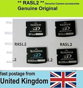 Genuine FujiFilm XD-Picture Card ,XD memory card ,1GB, 2GB, 256MB ,512MB