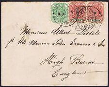 1900 Transvaal Boer War 1 x 1/2d 2 x 1d Pretoria High Barnet
