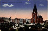 Chemnitz Sachsen AK & Stempel auf Feldpostkarte 1918 Feldpost 1. WK gelaufen