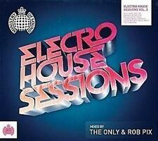 MINISTRY OF SOUND ELECTRO HOUSE SESSIONS 5  Mixed by The Only & Rob Pix 2CD NEW