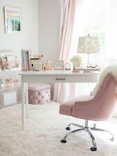 Blu Monaco 5 Piece Rose Gold Desk Organizer Set