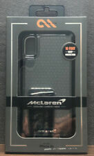 NIB CASE.MATE McLaren GENUINE CARBON FIBER IPHONE XR CASE