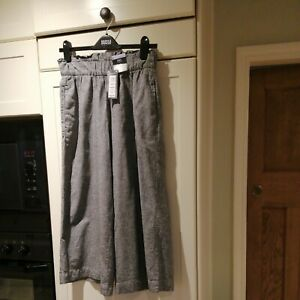 BNWT Cullottes size 8,navy,M&S collection