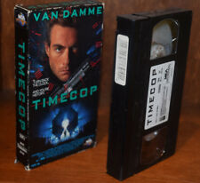 TIMECOP vintage VHS videocassette no DVD Blu-ray Not ex-rental copy Van Damme