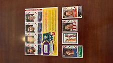 WM 2006 Lehmann, Inzaghi, Baretto, Briefmarke, England Update Sticker, WC