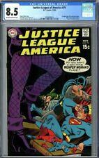 Justice League of America #75 CGC 8.5 1st Black canary (Dinah Laurel Lance)