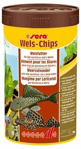 Sera Wels-Chips 380G 1000ml Food for all Ancistrus and CAVE  380 G !!!