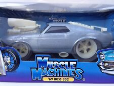 MUSCLE MACHINES RAW 69 BOSS 302 LIMITED EDITION 1 OF 504 PCS   1:18 (SCALE)  NEW