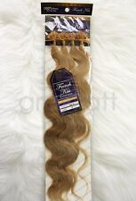 "French Kiss #24 Keratin U-TIP Remy Human Hair Extension 18"" Wavy 100 pcs"