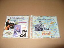 Gene Vincent blue Gene Bop /Gene Vincent And His Blue Caps 24 Tracks cd 1998 N/m