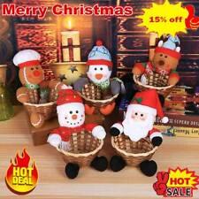 Food Santa Claus Basket Merry Christmas Decor Baskets Party Xmas Children Gift
