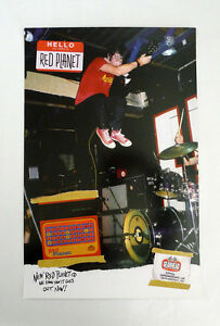 Red Planet - We Know How it Goes Promo Poster Gearhead full color power pop SF