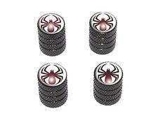 Spider Black - Spiderman - Tire Rim Valve Stem Caps - Black