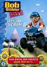 Bob The Builder - Let's Scram! [DVD] 2006  Brand new and sealed