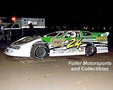 JEREMY MILLER #24 PONTIAC GTO DIRT LATE MODEL CAR 2007 8X10 PHOTO
