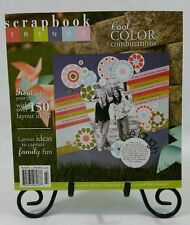 Scrapbook Trends Magazine Book July 2007 Scrapbooking Papercrafts Cardmaking