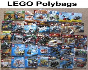 LEGO Polybags / Promotional Sets NEW - Star Wars Batman Heroes Friends Creator