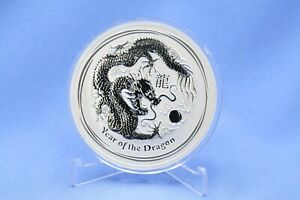 Australien 10 $ 2012 Lunar  Year of the Dragon  10 oz Silber *st*