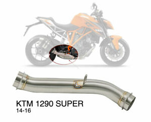 Exhaust Link Mid Pipe KTM 1290 Super 14-16 Duke R 2017 > 2019 Motorcycle Bike