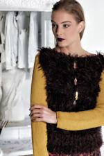 Mehrfarbige Damen-Pullover & -Strickware aus Wolle mit Langgröße
