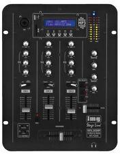 Mezcladores para DJ y espectáculos 3 canales