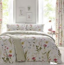 Dreams & Drapes Spring Floral Glade Duvet Cover Set Double Multicolored 4ft 6