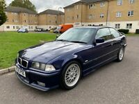 1998 (R) BMW E36 328i Sport Manual Coupe, Montreal Blue