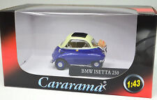 Bmw Isetta 250 azul oscuro 1 43 Cararama