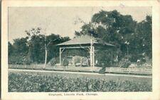 1910. ELEPHANT, LINCOLN PARK, CHICAGO, IL. POSTCARD SC9