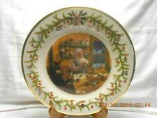 """Luxurious Lenox 2010 Annual Santa Collector Plate 10 3/4"""" Toys New in Box w2s10"""