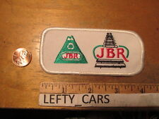 JBR RAILROAD EMBROIDERED CLOTH PATCH - SEW ON TYPE