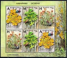 2019. Belarus. FLORA. Plants. Lichens. Insects. M/sheet. MNH