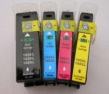 4PK Ink Cartridge 100 100XL Lexmark for PRO705 PRO805 PRO905 PRO901 V715W Lip331