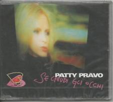 PATTY PRAVO - Se chiudi gli occhi - CD SINGOLO 2000 2 TRACKS SIGILLATO SEALED