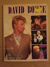 David Bowie Book Steve Gett Biography Timeline 1985 Softback