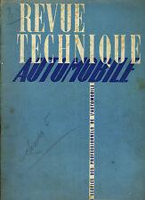 (C16) REVUE TECHNIQUE AUTOMOBILE SIMCA 5 / AUTOCARS CHAUSSON