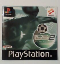 *INSTRUCTIONS ONLY* ISS Pro Evolution 2 Instruction Manual PS1 PSOne Playstation