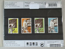 """0087 Steckkarte mit Briefmarken """"Guinea""""- Gebiet Motive"""