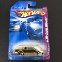 2008 Hot Wheels Team Engine Revealers 1 of 4 Gold Buick Grand National