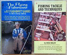 Vintage Fishing Paperback Book Lot