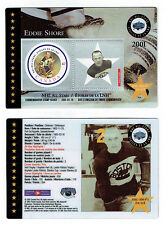2001 Canada Post NHL All-Stars, Bruins' Eddie Shore Laminated Stamp Card