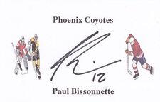 10 ice hockey autographs - most ex-Nhl