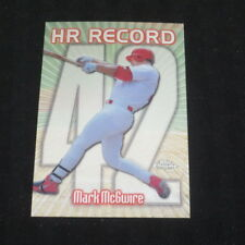 1999 Topps Chrome  Mark McGwire HR42 Cardinals