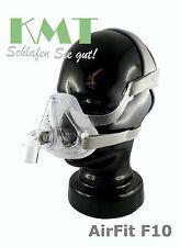 """CPAP """"AirFit F10"""" Full-Face-Maske ResMed div. Größen S, M, L   NEU*OVP"""