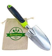 Homegrown Garden Tools Premium Hand Gardening Trowel - Large Ergonomic Handle