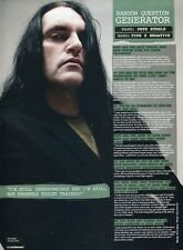 PETER STEELE PINUP CLIPPING FROM A MAGAZINE 2000'S TYPE O NEGATIVE
