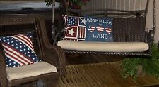 3 Pc. KHAKI OUTDOOR WICKER PATIO FURNITURE REPLACEMENT CUSHION COVERS