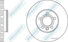 SEAT ALHAMBRA 7V 1.9D 2x Brake Discs (Pair) Vented Front 00 to 10 300mm Set New