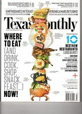 TEXAS MONTHLY Magazine (March  2014) WHERE TO EAT